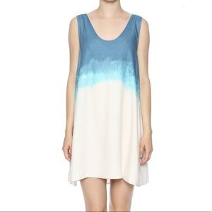 BB DAKOTA Dip Dye Tank Dress Size Medium